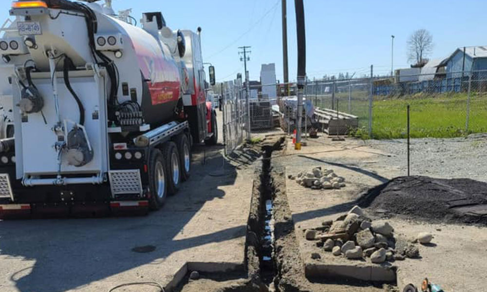 Power Pole Excavation and Anchor Installations